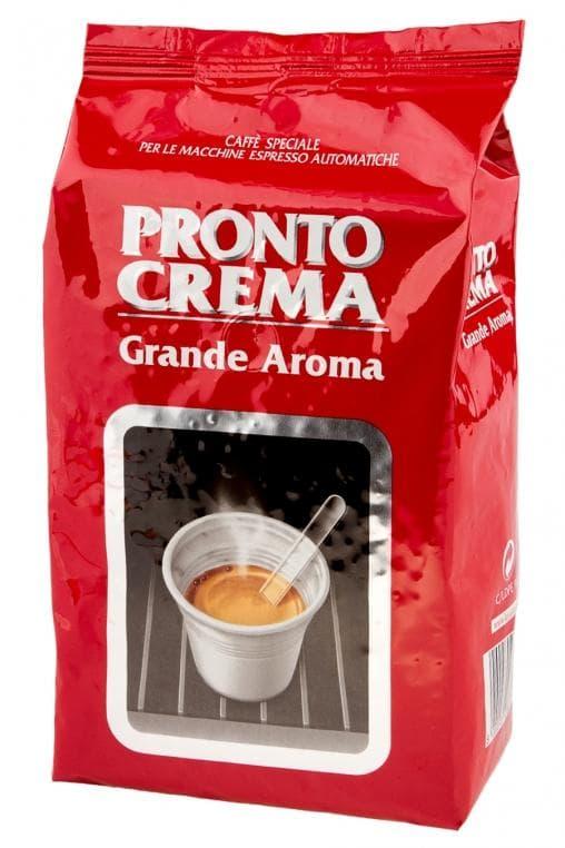 Кофе в зернах Lavazza Pronto Crema Grande Aroma 1000г (1кг)