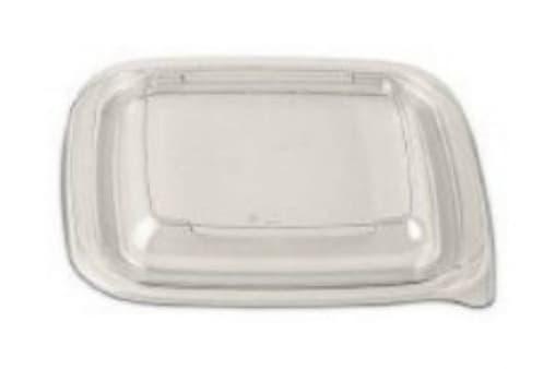 Крышка Прозрачная для контейнера Кубик 126x126x13 ПЭТ