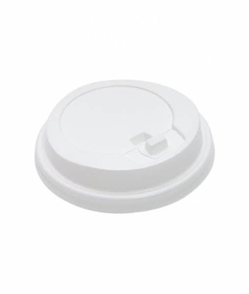 Крышка с клапаном (100 шт) Белая ∅ 89