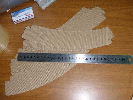 Держатель стаканов бумажный wrapper универсальный