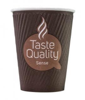 Бумажный стакан Taste Quality Sense Craft 2слойн. d=90 300мл