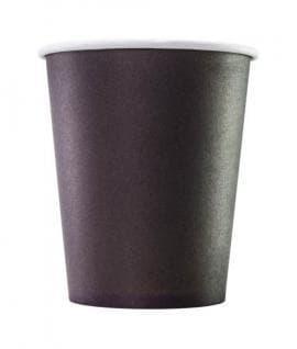 Бумажный стакан Черный d=80 250мл