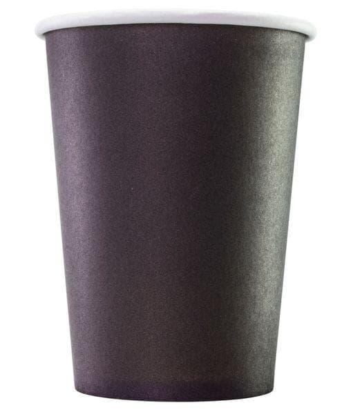 Бумажный стакан Черный d=90 300мл
