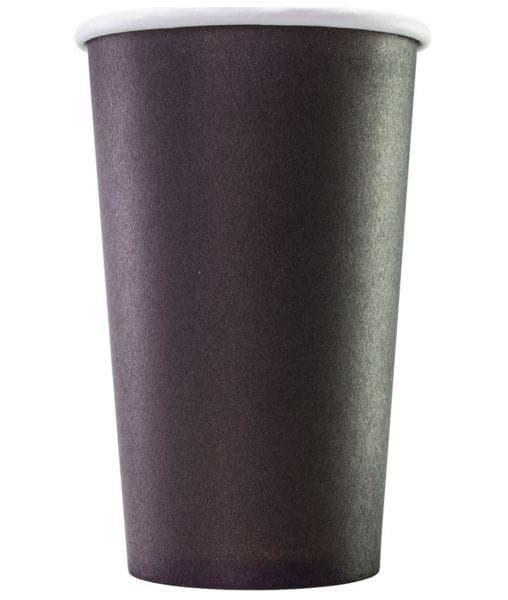 Бумажный стакан Черный d=90 400мл