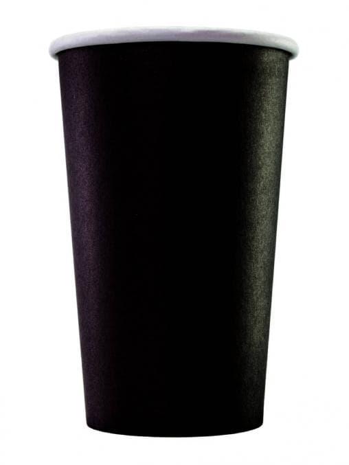 2-слойный бумажный стакан для кофе и горячих напитков Total Black d=90 400 мл 50 шт./тубе – цена, описание, фото