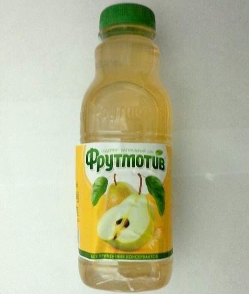 """Напиток Фрутмотив """"Груша"""" 500 мл ПЭТ 0.5"""