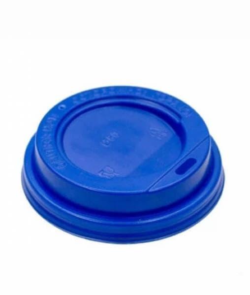 Крышка для стакана (100 шт) Синяя d=80