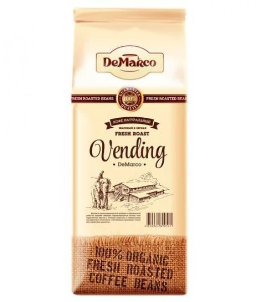 Кофе в зернах DeMarco Fresh Roast Вендинг 1000 гр (1 кг)