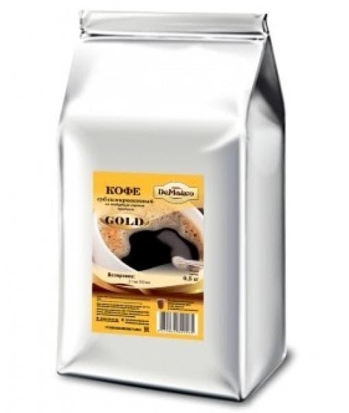 Кофе растворимый сублимированный DeMarco Gold 500г