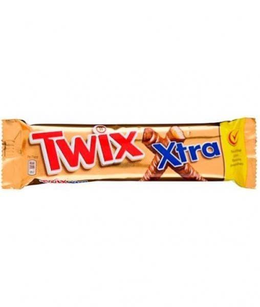 Батончик шоколадный Твикс Экстра Twix Xtra 82г