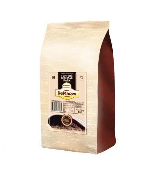 Горячий шоколад в гранулах De Marco Granule Dark 500г