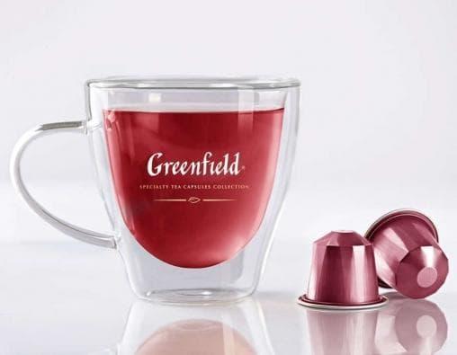Чай фруктовый капсулы Greenfield Raspberry Cream 2,5г х10