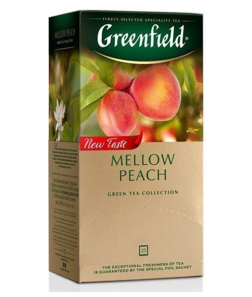 Чай зелёный Greenfield Mellow Peach (25 пак. х 1,8г)
