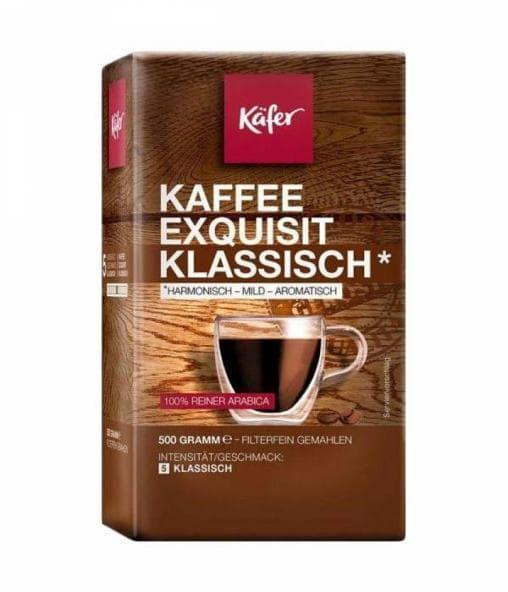 Кофе молотый Kafer Kaffee Exquisit Klassisch 500 г (0,5кг)