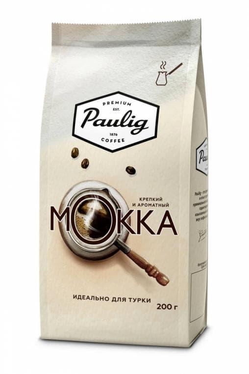 Кофе молотый Paulig Mokka для турки 200 г (0,2 кг)