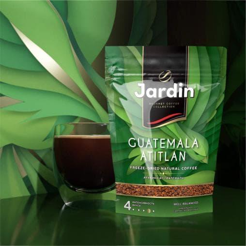 Кофе растворимый Jardin Guatemala Atitlan дой-пак 150г