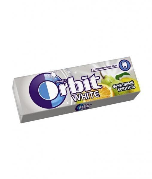 Жевательная резинка Orbit Фруктовый Коктейль 13,6г