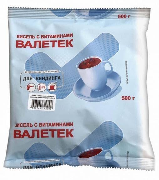 Кисель Вкусновит Черная смородина 500гр