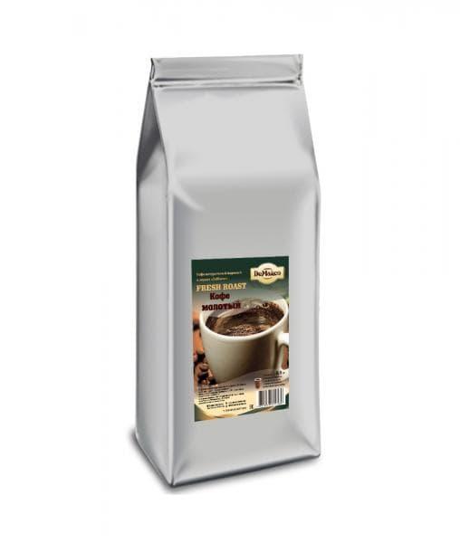 Кофе молотый DeMarco Fresh Roast 500 грамм