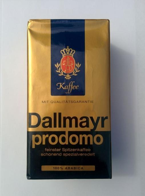 Кофе молотый Dallmayr Prodomo 500 гр (0.5 кг)