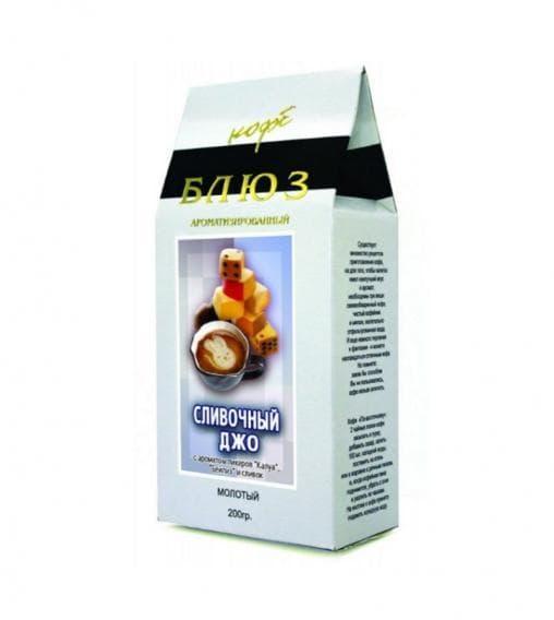 Кофе молотый Блюз Сливочный Джо 200 гр (0,2 кг)