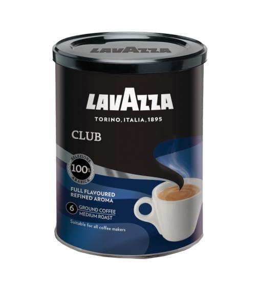 Кофе молотый Lavazza Club 250 грамм (банка)