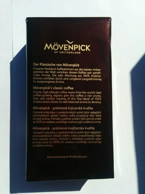 Кофе молотый Movenpick der Himmlische 250 грамм