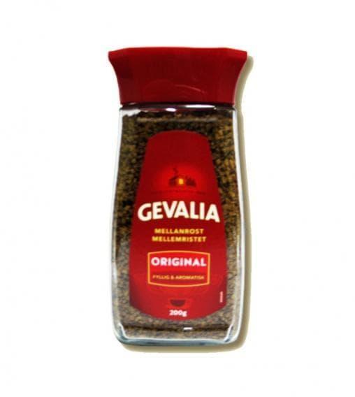 Кофе растворимый Gevalia Original 200г