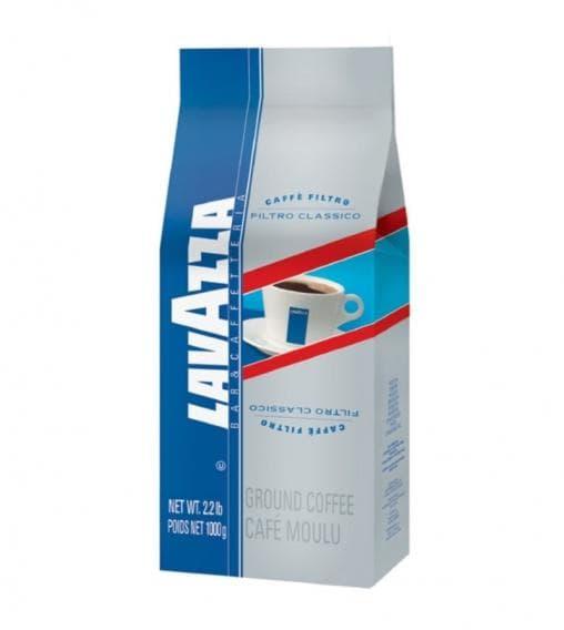 Кофе молотый Lavazza Filtro Classico 1000 гр (1кг)