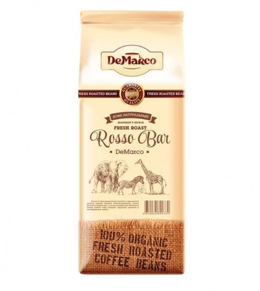 Кофе в зернах DeMarco Fresh Roast Rosso Bar 1000 гр (1 кг)
