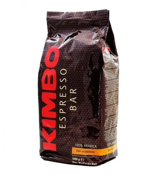 Кофе в зернах KIMBO Top Flavour 1000 гр (1кг)