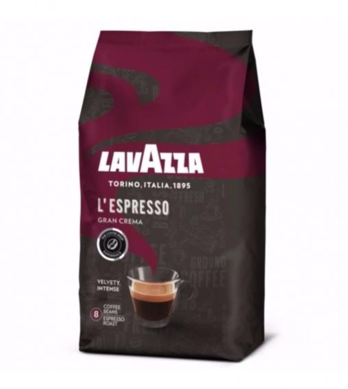 Кофе в зернах Lavazza L'Espresso Gran Crema 1000 гр (1 кг)