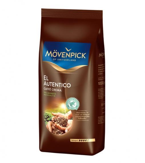 Кофе в зернах Mövenpick El Autentico 1000 грамм