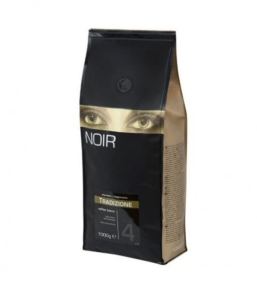 Кофе в зернах NOIR Tradizione 30% Арабики 1000 гр (1кг)