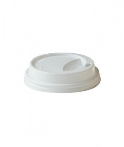 Крышка для стакана (100 шт) Белая ∅ 62