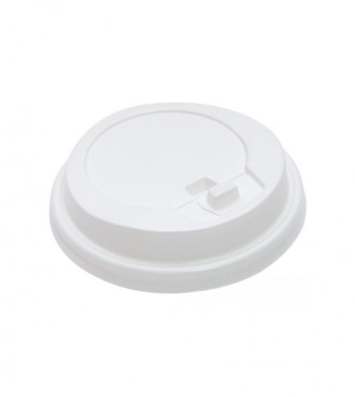 Крышка с клапаном Белая d=80