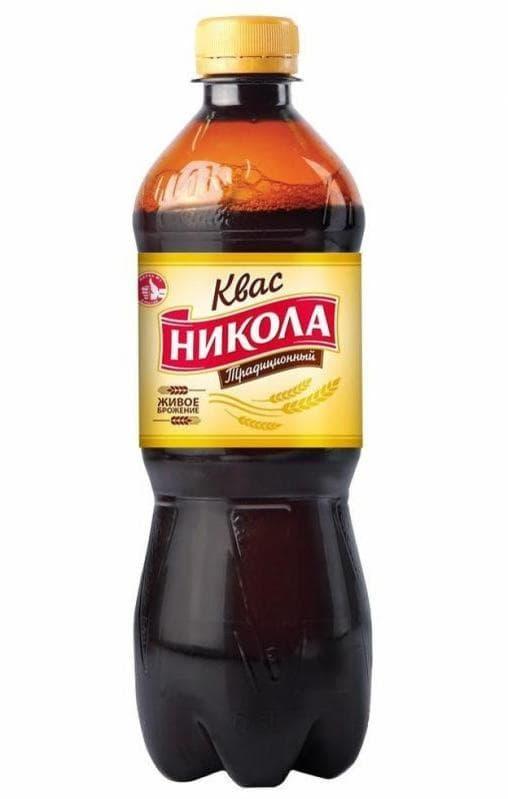 Квас Никола Традиционный 500мл ПЭТ