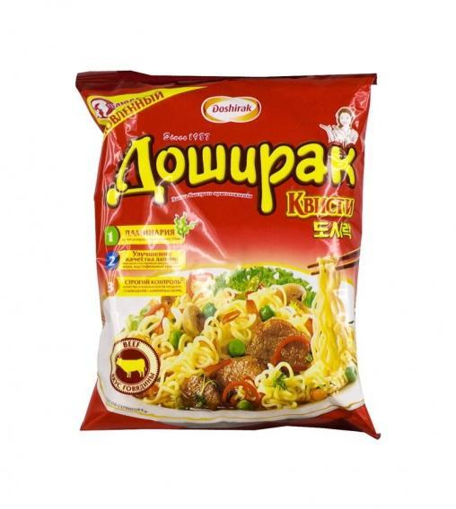Лапша Доширак Квисти Говядина 70 грамм