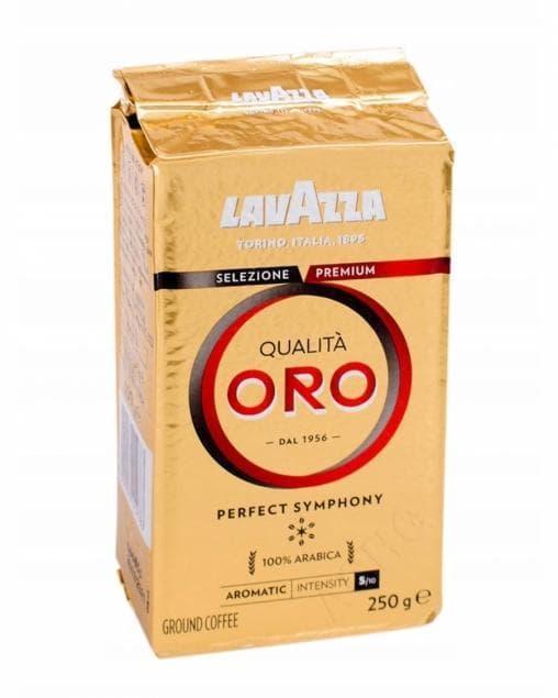 Кофе молотый Lavazza Qualita Oro 250г (брикет)