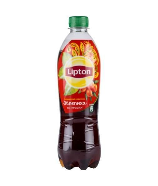 Чай Облепиха по-русски Lipton Tea 500 мл ПЭТ 0.5