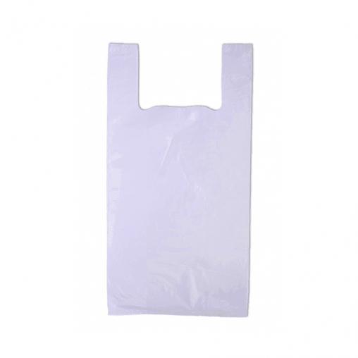 Пакет-майка белый 28+14х50 cм 10 мкм 2000 шт.