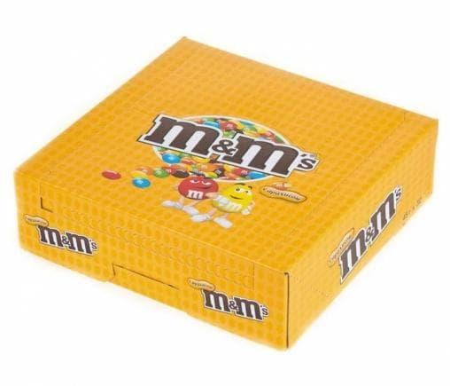 Драже M&Ms с Арахисом в шоколадной глазури 45г