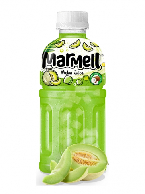 Напиток Marmell Ната де Коко со вкусом Дыни 320 мл ПЭТ