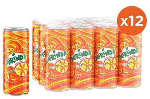 Газированный напиток Mirinda Апельсин 330мл ж/б
