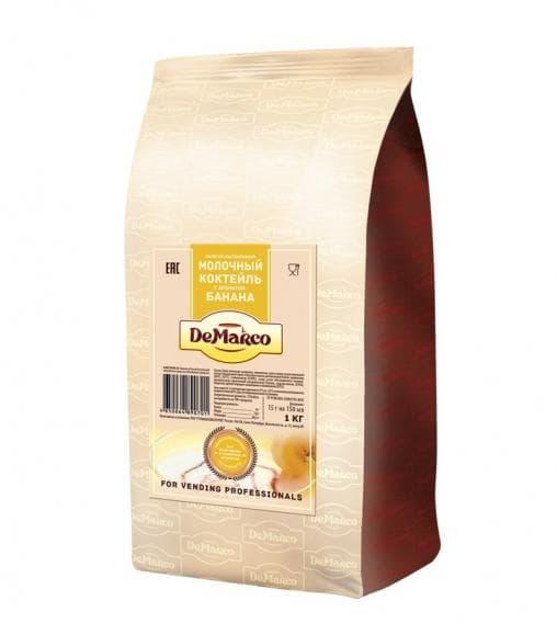 Молочный коктейль DeMarco Банан 1000 гр (1 кг)