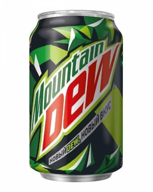 Маунтин Дью 330мл банка Mountain Dew 0.33
