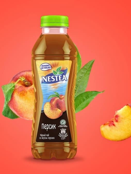 Чай Nestea Персик 500мл ПЭТ