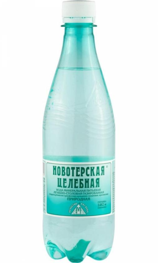 Вода Новотерская минеральная 500мл ПЭТ