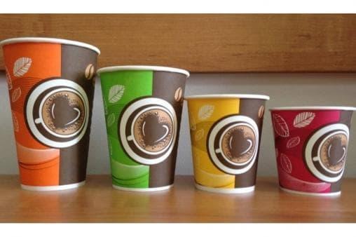 Бумажный стакан Huhtamaki SP16 Кофе с собой d=90 400мл