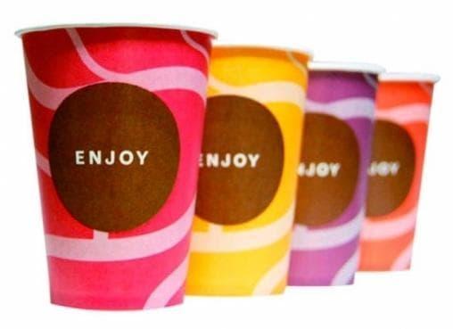 Бумажный стакан Huhtamaki SP9 Enjoy d=80 200мл